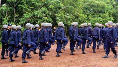 Pelepasan Casis PT. Jhonlin Security Service