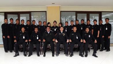 Batulicin, Jhonlin Security Service