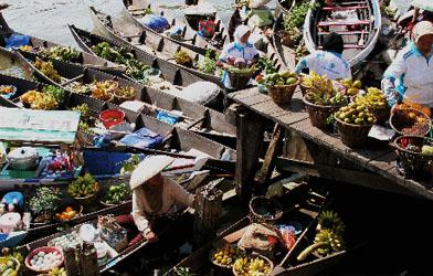 Pasar Terapung Kalimantan Selatan, Batulicin, Banjarmasin