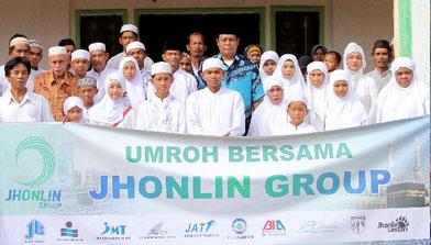 Batulicin, Umroh Bersama Jhonlin Group 2013
