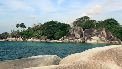 batulicin, jalan - jalan Bro, Pulau belitung
