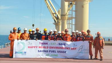 Hari Lingkungan Hidup, Jhonlin Group, Kalimantan Selatan, H Isam, h-isam