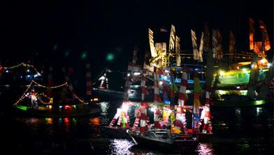 Kapal Hias, Pesta Adat Mappanretasi, Batulicin, Kalimantan Selatan, Jhonlin Group, H Isam, h-isam