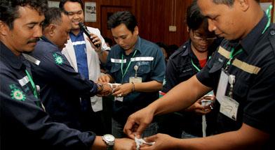 Jhonlin group, PT. Jhonlin Marine Lines, Pelatihan First Aid, Kalimantan Selatan, Batulicin, h isam