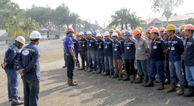 Jhonlin group, SHE Jhonlin Group, Kalimantan Selatan, Batulicin, K3, h isam