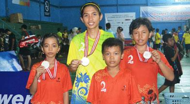 Jhonlin Group, csr program, atlit bulungtangkis, PBSI Tanah Bumbu, Fly Power Open, Kalimantan Selatan, Batulicin, h isam
