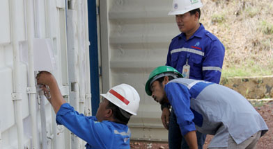 Jhonlin Group, Verifikasi gudang handak, Kalimantan Selatan, Batulicin, h isam