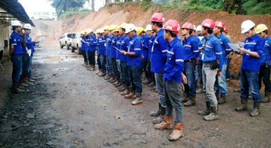 Jhonlin Group, Sosialisasi SPT, PT. Jhonlin Baratama, Kalimantan Selatan, Batulicin, h isam