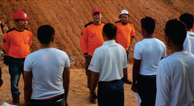 Jhonlin Group, PT. Jhonlin Baratama, Sungai Danau, ERT, Diksar, Kalimantan Selatan, Tanah Bumbu, Batulicin, h isam