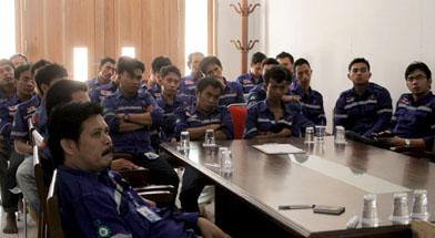 Jhonlin Group, Annual refresh induction, K3, SHE, Kalimantan selatan, Tanah bumbu, Batulicin, PT. Jhonlin Baratama, h isam