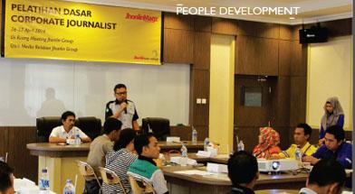Jhonlin Group, Kalimantan Selatan, Tanah Bumbu, Batulicin, Pelatihan Dasar Jurnalistik, h isam