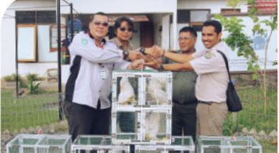 Jhonlin Group, Lembaga Konservasi Jhonlin Lestari, Kalimantan Selatan, Tanah Bumbu, Batulicin, BKSDA
