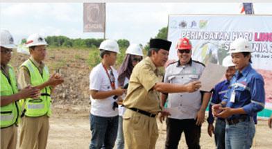 Jhonlin Group, PT. Jhonlin Baratama, Hari Lingkungan Hidup, Kalimantan Selatan, Tanah Bumbu, Batulicin, h isam
