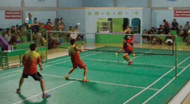 Jhonlin Group, Jhonlin Badminton Club, Kalimantan Selatan, Tanah bumbu, Batulicin, h isam