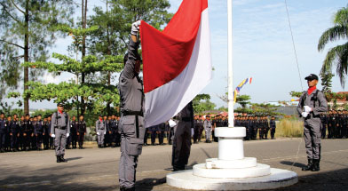 Jhonlin Group, PT. Jhonlin Sasangga Banua, Upacara Kemerdekaan HUT RI ke-69, Kalimantan Selatan, Tanah Bumbu, Batulicin, h isam