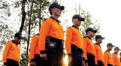 Jhonlin Group, PT. Jhonlin Sasangga Banua, Satuan Pengamanan, Kalimantan Selatan, Tanaha bumbu, Batulicin, JSS, h isam