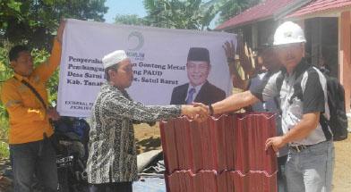Bantuan Pembangunan Gedung PAUD di Desa Satui Barat