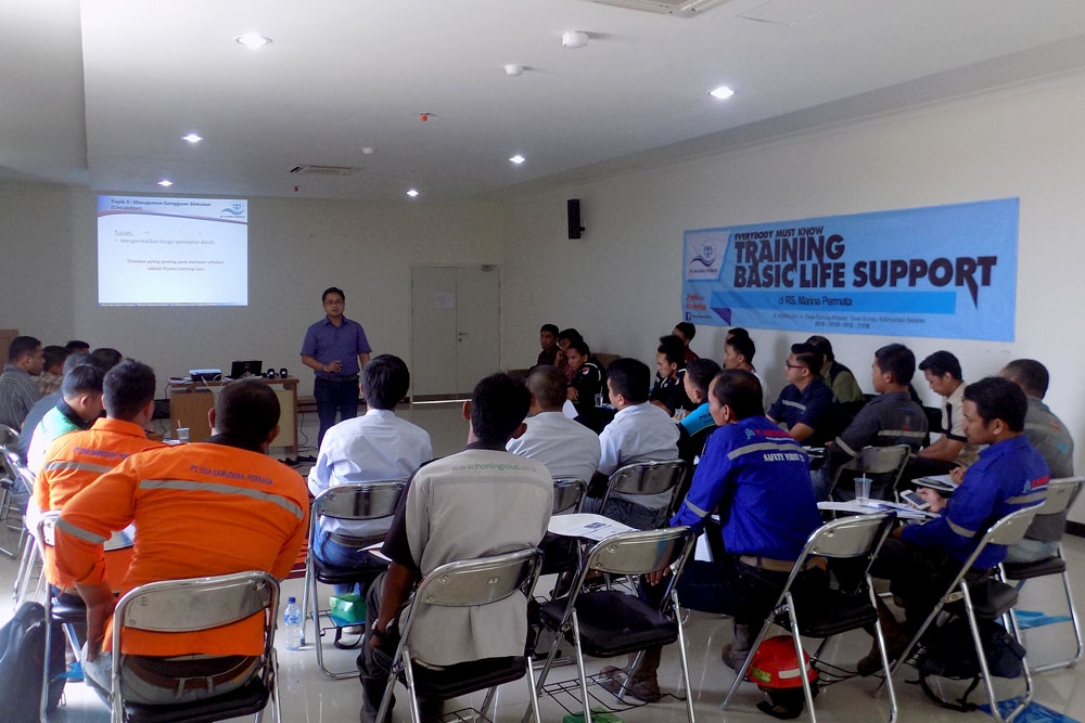 Jhonlin Group, RS Marina Permata, Training Basic Life Support, Batulicin, Tanah Bumbu, Kalimantan Selatan