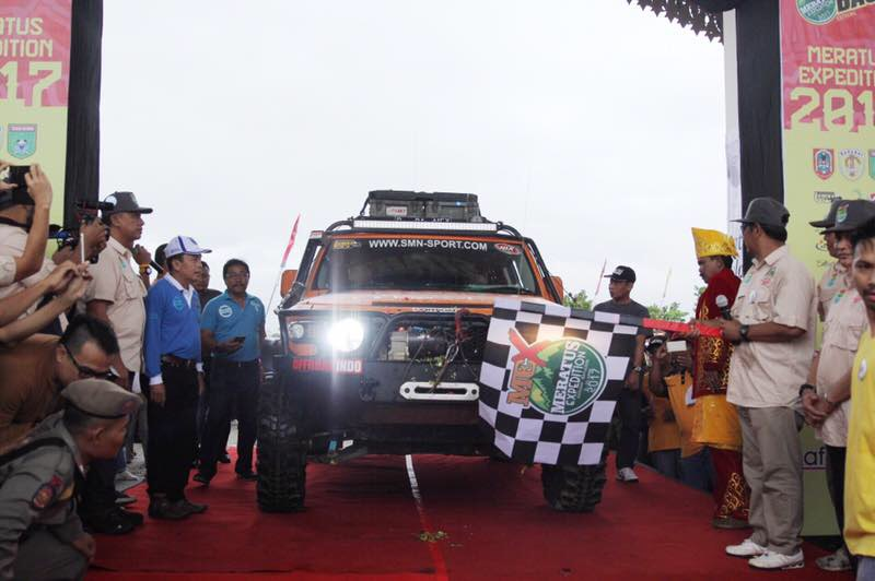 JhonlinMagz, Jhonlin group, MEX 2017, Gubernur Kalsel, Offroad, Batulicin, Tanah Bumbu, Kalimantan Selatan