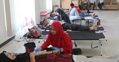 Donor Darah Bersama Jhonlin Group Peringati HUT RI ke 73