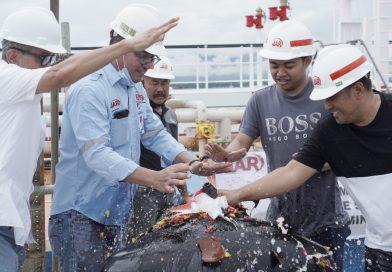 Shipment Perdana FAME (Fatty Acid Methyl Ester) PT. Jhonlin Agro Raya Biodiesel